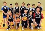 The St. Paul's Killarney U-12 Boys Basketball team.  Front from left are Ronan McClure, Sean Farrandon,  Ryan Sheehan , Donal Lucey, Ewan Weldon. Back from left are Mark Donnellan, Ruairi Counihan, Sean O'Neill, Conor Coffey, Harry Potts, Mark Cooper, William O'Brien.  Picture: Eamonn Keogh (MacMonagle, Killarney)