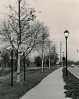 1974 November 25.UNDATED..Redevelopment...E Ghent South (A-1-1)..Llewellyn Avenue Lighting Improvements..D. Jenkins.NEG# DJJ74-14-6..
