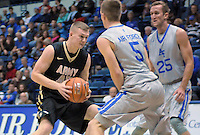 December 12, 2015 - Colorado Springs, Colorado, U.S. -  Army forward, Adam Roe #45, during an NCAA basketball game between the Army West Point Black Knights and the Air Force Academy Falcons at Clune Arena, U.S. Air Force Academy, Colorado Springs, Colorado.  Army West Point defeats Air Force 90-80.