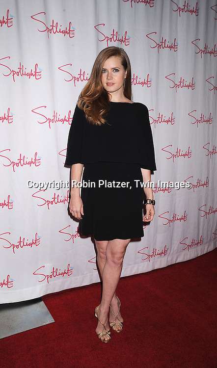 Amy Adams.at The 2007 New York Film Critic's Circle Awards on .January 6, 2008 at Spotlight in New York. ..Robin Platzer, Twin Images