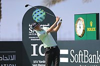 Ashley Chesters (ENG) on the 10th tee during the final round of  the Saudi International powered by Softbank Investment Advisers, Royal Greens G&CC, King Abdullah Economic City,  Saudi Arabia. 02/02/2020<br /> Picture: Golffile | Fran Caffrey<br /> <br /> <br /> All photo usage must carry mandatory copyright credit (© Golffile | Fran Caffrey)