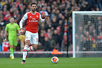 Pablo Mari of Arsenal FC during Arsenal vs West Ham United, Premier League Football at the Emirates Stadium on 7th March 2020