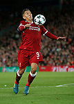 Roberto Firmino of Liverpool during the Champions League Group E match at the Anfield Stadium, Liverpool. Picture date 13th September 2017. Picture credit should read: Simon Bellis/Sportimage