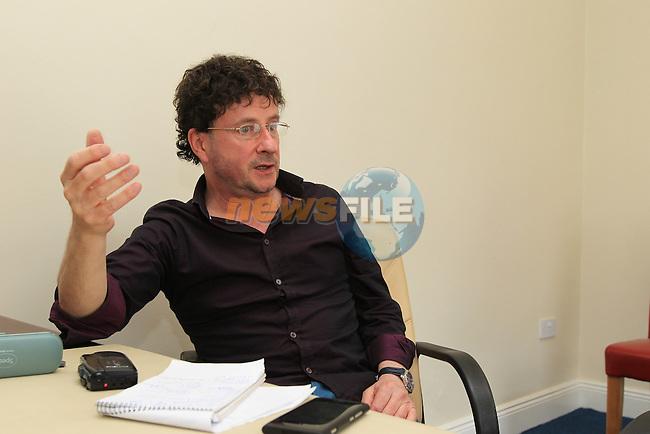 Pat Flanagan Spotlight interview.Picture Fran Caffrey www.newsfile.ie..
