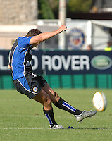 20,05/06 Powergen Cup Bath Rugby vs Bristol Rugby,  Ollie Barkley, Bath, ENGLAND, 01.10.2005   © Peter Spurrier/Intersport Images - email images@intersport-images..