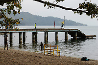 RWANDA, Gisenyi, Lake Kivu / Grenzstadt am Kivu See zum Kongo, Goma
