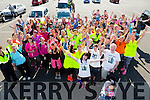 Walkers and volunteer's at the Jamie Wrenn  Walk to Castlegregory in aid of Kerry Hospice on Saturday