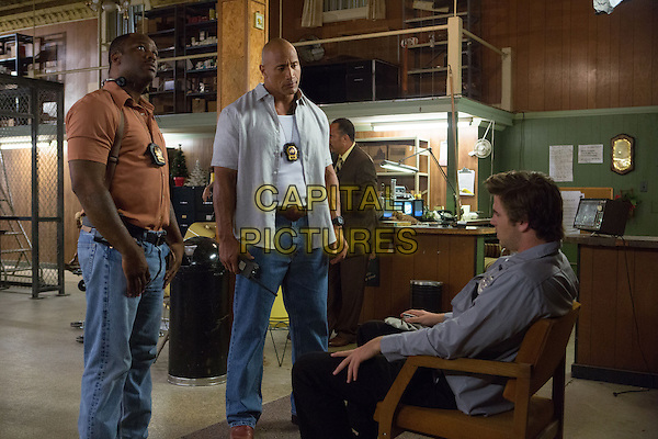 Lucky Johnson, Dwayne &quot;The Rock&quot; Johnson, Liam Hemsworth <br /> in Empire State (2013) <br /> *Filmstill - Editorial Use Only*<br /> CAP/FB<br /> Image supplied by Capital Pictures