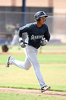 Efrain Nunez - Seattle Mariners - 2010 Instructional League.Photo by:  Bill Mitchell/Four Seam Images..