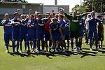 Hoffenheim 21.06.2008, Deutsche Meisterschaft der B-Junioren TSG 1899 Hoffenheim - Borussia Dortmund, Die Sieger im Endspiel &quot;TSG 1899 Hoffenheim&quot;<br /> <br /> Foto &copy; Rhein-Neckar-Picture *** Foto ist honorarpflichtig! *** Auf Anfrage in h&ouml;herer Qualit&auml;t/Aufl&ouml;sung. Belegexemplar erbeten.