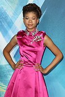Storm Reid at the A Wrinkle In Time - European film premiere at the BFI IMAX, London March 13th 2018<br /> CAP/ROS<br /> &copy;ROS/Capital Pictures /MediaPunch ***NORTH AND SOUTH AMERICAS ONLY***
