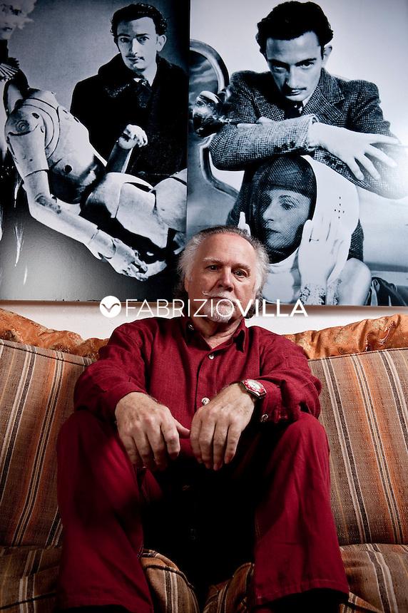 JOSE' VAN ROY DALI', figlio del celebre pittore catalano Salvador Dalì Domenech e della sua consorte Elena Deluvina Diakonov (Gala). Fotografato nella sua abitazione.