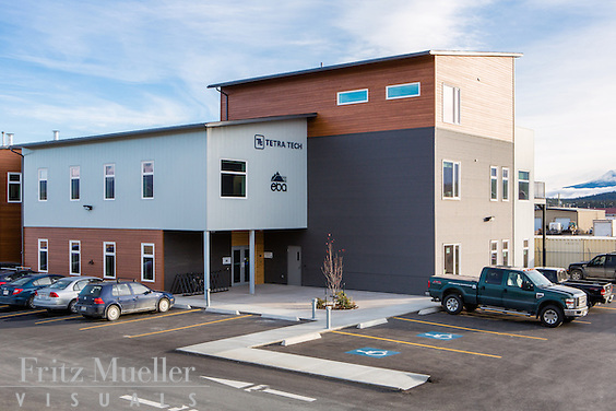 EBA Engineering building in Whitehorse, Yukon. Architect: Northern Front Studio
