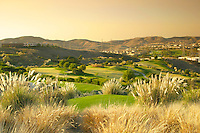 Scenic View from Bella Collina Towne and Golf Club in San Clemente California
