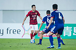 Guangzhou Forward Gao Lin (L) in action during the AFC Champions League 2017 Group G match between Guangzhou Evergrande FC (CHN) vs Suwon Samsung Bluewings (KOR) at the Tianhe Stadium on 09 May 2017 in Guangzhou, China. Photo by Yu Chun Christopher Wong / Power Sport Images