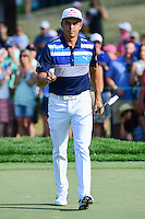 Rickie Fowler (USA) after sinking his putt on 10 during round 3 of the Honda Classic, PGA National, Palm Beach Gardens, West Palm Beach, Florida, USA. 2/25/2017.<br /> Picture: Golffile | Ken Murray<br /> <br /> <br /> All photo usage must carry mandatory copyright credit (&copy; Golffile | Ken Murray)