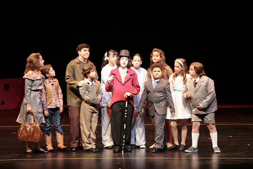 Miramar, Florida, May 31st, 2009: Doral Conservatory and Talent Zone present Ronald Dahi's Willy Wonka Junior at the Miramar Cultural Center. (Photo by Jesus Aranguren/AUSA)