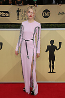 LOS ANGELES, CA - JANUARY 21: Saoirse Ronan at The 24th Annual Screen Actors Guild Awards at The Shrine Auditorium on January 21, 2018 in Los Angeles, California. Credit: FSRetna/MediaPunch