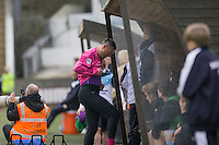 Veteran goalkeeping coach Barry Richardson prepares to come on during the Sky Bet League 2 match between Plymouth Argyle and Wycombe Wanderers at Home Park, Plymouth, England on 30 January 2016. Photo by Mark  Hawkins / PRiME Media Images.