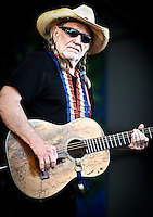 Willie Nelson plays Jazz Fest 2011 in New Orleans, LA on day 5.