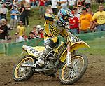 Motocross, MX2 WM 2004, Weltmeisterschaft, Grand Prix of Europe, Gaildorf (Germany) Wyatt Avis (RSA), Kawasaki