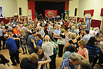 The large crowd at the Ceilí and set dancing weekend at An Grianan. Photo: Colin Bell/pressphotos.ie