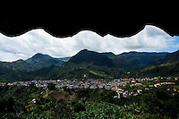 General view of the town of Jardin in Antioquia August 1, 2012. Photo by Eduardo Munoz Alvarez / VIEW.