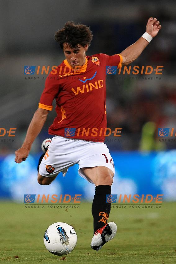 "BOJAN Krkic Roma.Roma 25/8/2011 Stadio ""Olimpico"".Football Calcio Europa League 2011/2012.Roma Vs Slovan Bratislava.Foto Insidefoto Andrea Staccioli"