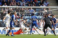Ousseynou Cisse scores Gillingham's opening goal during Gillingham vs Burton Albion, Sky Bet EFL League 1 Football at The Medway Priestfield Stadium on 10th August 2019