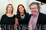Claire Keane Sings Christmas: Attending the Claire Keane Sings Christmas at St. John's Art's Centre, Listowel on Friday night last were Audrey O'Carrll, Claire Keane & Gabriel Fitzmaurice.