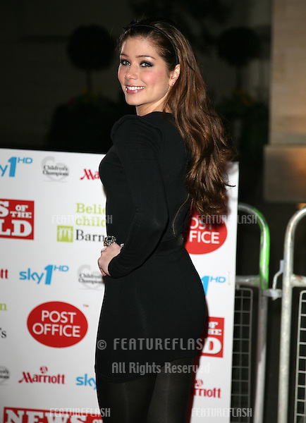 Nikki Sanderson arriving for the Children's Champion Awards 2010, at Grosvenor House Hotel, London. 03/03/2010  Picture by: Alexandra Glen / Featureflash
