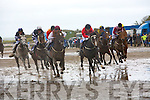 Darragh Lordan on Sandyport is first past the winners post in the Asdee Derby at Asdee Races on Sunday. ..   Copyright Kerry's Eye 2008