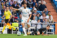 Real Madrid Achraf Hakimi during La Liga match between Real Madrid and Celta de Vigo at Santiago Bernabeu Stadium in Madrid, Spain. May 12, 2018. (ALTERPHOTOS/Borja B.Hojas) /NORTEPHOTOMEXICO