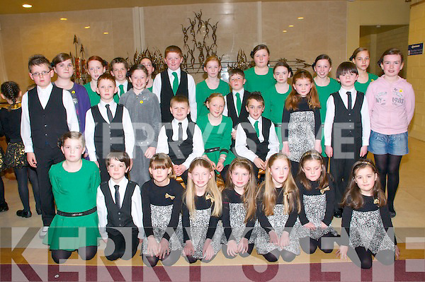 Sult Na nOg Set Dancing Competition: Taking part in the Kerry Comholtas Sult Na nOg set dancing competition County finals held in the Tintean Centre, Ballybunion on Sunday last were the Killarney  CCE members...