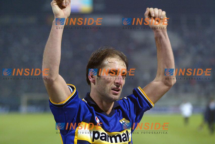Parma 10/1/2004<br /> Parma Inter 1-0<br /> Luciano Castellini (Parma)<br /> Photo Andrea Staccioli Insidefoto