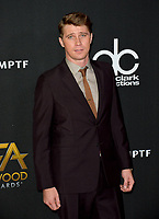 Garrett Hedlund at the 21st Annual Hollywood Film Awards at The Beverly Hilton Hotel, Beverly Hills. USA 05 Nov. 2017<br /> Picture: Paul Smith/Featureflash/SilverHub 0208 004 5359 sales@silverhubmedia.com