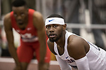 COLLEGE STATION, TX - MARCH 11: Eric Futch of Florida after the 400 meter dash during the Division I Men's and Women's Indoor Track & Field Championship held at the Gilliam Indoor Track Stadium on the Texas A&M University campus on March 11, 2017 in College Station, Texas. (Photo by Michael Starghill/NCAA Photos/NCAA Photos via Getty Images)