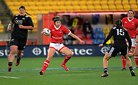 Brittany Waters in action during the 2017 International Women's Rugby Series rugby match between the NZ Black Ferns and Canada at Westpac Stadium in Wellington, New Zealand on Friday, 9 June 2017. Photo: Dave Lintott / lintottphoto.co.nz