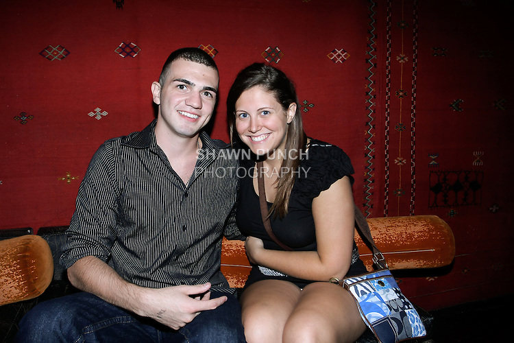 Guests partying at Katra night club on 217 Bowery, NY August 12, 2011.