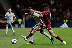Argentina's Blanco and Venezuela's Roberto Jose Rosales during International Adidas Cup match between Argentina and Venezuela at Wanda Metropolitano Stadium in Madrid, Spain. March 22, 2019. (ALTERPHOTOS/A. Perez Meca)