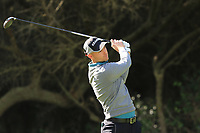 Bryce Easton (RSA) on the 8th tee during Round 2 of the Challenge Tour Grand Final 2019 at Club de Golf Alcanada, Port d'Alcúdia, Mallorca, Spain on Friday 8th November 2019.<br /> Picture:  Thos Caffrey / Golffile<br /> <br /> All photo usage must carry mandatory copyright credit (© Golffile | Thos Caffrey)