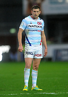 Racing 92 Finn Russell in action during todays match<br /> <br /> Photographer Ian Cook/CameraSport<br /> <br /> European Rugby Champions Cup - Scarlets v Racing 92 - Saturday 13th October 2018 - Parc y Scarlets - Llanelli<br /> <br /> World Copyright © 2018 CameraSport. All rights reserved. 43 Linden Ave. Countesthorpe. Leicester. England. LE8 5PG - Tel: +44 (0) 116 277 4147 - admin@camerasport.com - www.camerasport.com