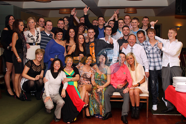 David McCluskey with friends and family at his 21st in The Star and Crescent...Picture Jenny Matthews/Newsfile.ie