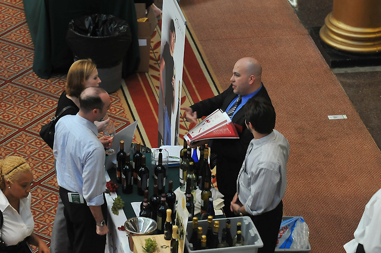 Annual Toast of the Town hosted by Wine Enthusiast Magazine and sponsored by The Wall Street Journal held at The Building Museum in Washington DC.