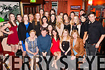 21 wishes<br /> ------------<br /> Aideen O'Conor,Listowel(seated centre)had a fab night celebrating her 21st birthday in the Exchange bar,Ballybunion surrounded by many friends and family.