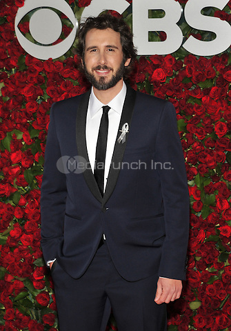 NEW YORK, NY - JUNE 12: Josh Groban at the 70th Annual Tony Awards at The Beacon Theatre on June 12, 2016 in New York City. Credit: John Palmer/MediaPunch