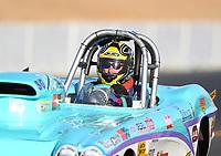 Jul 28, 2017; Sonoma, CA, USA; NHRA super gas driver Ed De Staute during qualifying for the Sonoma Nationals at Sonoma Raceway. Mandatory Credit: Mark J. Rebilas-USA TODAY Sports
