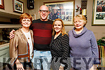 Mary B Quirke, Bertie Flynn, Tina Dillane and Lorraine Moriarty enjoying the night out in the Brogue Inn on Friday