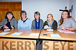 Pictured at the public meeting in Dromod on Monday on the future of the Post Office Service in the area were l-r; Cáit Uí Chonaill, Caithlín Breahnach, Fíona de Buis, Cllr. Norma Moriarty & Emir Ní Mhurchú(Cathaoirleach).