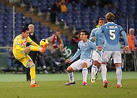 Jose Callejon durante l'incontro di calcio di Serie A  Lazio Napoli   allo  Stadio Olimpico  di Romai , 2 Dicembre 2013<br /> Foto Ciro De Luca